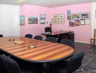 Saccavini's meeting room